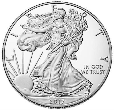 USA - 1 Dollar 2017 - Silver Eagle - West Point - 1 Oz. Silber Polierte Platte