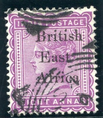 British East Africa 1895 QV 8a dull mauve very fine used. SG 57. Sc 64a.