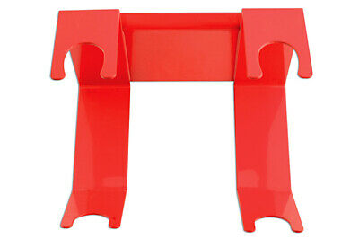 Power-TEC 91422 Spraygun Hanger - Fixes to spray booth wall w heavy duty magnets