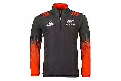 adidas New Zealand All Blacks 2017/18 Players Rugby Training Fleece
