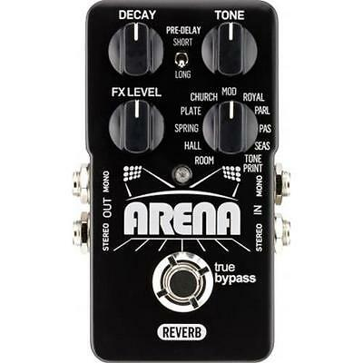 Tc Electronic Arena Reverb Wirkung Nachhall A Pedal