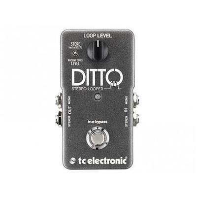 Tc Electronic Dito Stereo Looper Wirkung Looper Stereo A Pedal