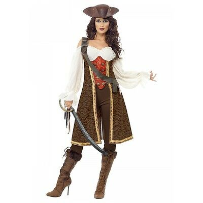 High Seas Pirate Wench Costume Halloween Fancy Dress