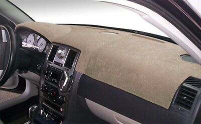 Cadillac CTS 2003-2007 Brushed Suede Dash Board Cover Mat Mocha