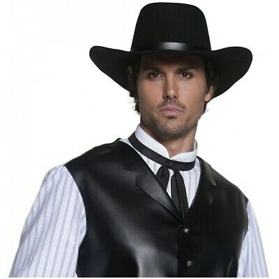 Authentic Western Gunslinger Hat Costume Accessory Adult Halloween