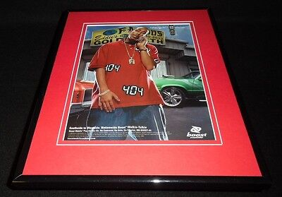 Ludacris 2005 Boost Mobile Framed 11x14 ORIGINAL Vintage Advertisement