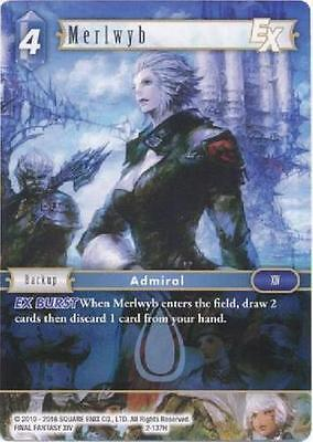 Merlwyb -  2-137H HERO - NM - Final Fantasy TCG - OPUS 2 ii