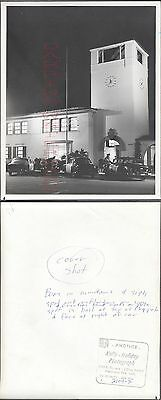 Vintage Photo Huntington Park Police 1956 Plymouth & 1954 Chevrolet Cars 273025