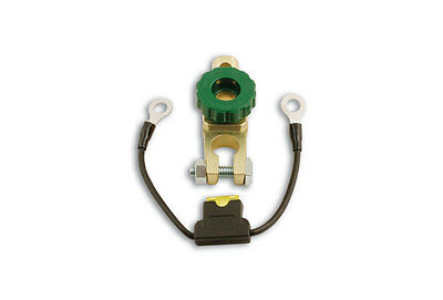 GENUINE OE Anti Theft Battery Terminal Plated Brass Finish Pk 1   Connect 30122