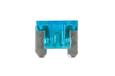 GENUINE Low Profile Mini Blade Fuse 15-amp Blue Pack 25 | Connect 30441