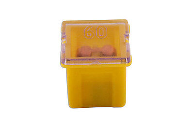 GENUINE J Type Auto Low Profile Fuse Yellow 60-amp Pk 10 | Connect 30487
