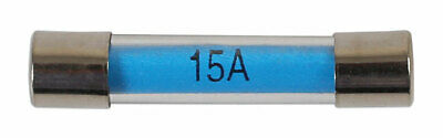 GENUINE Glass Auto Fuse -  15-amp Pk 100 | Connect 30497