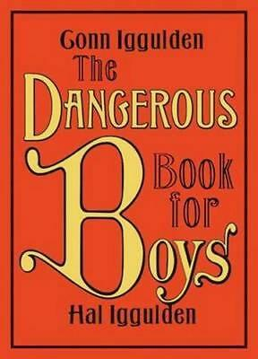 NEW The Dangerous Book for Boys By Conn Iggulden Hardcover Free Shipping