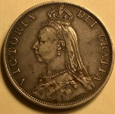 Great Britain - Queen Victoria - Florin - 1892 - Extra Fine - KEY - See Images!