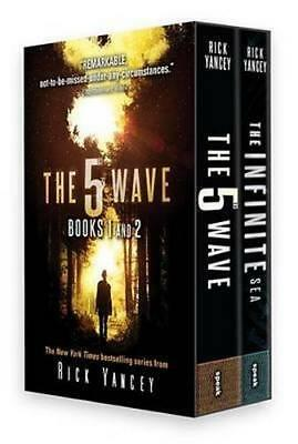 NEW The 5th Wave Box Set (Books 1 & 2) By Rick Yancey Paperback Free Shipping