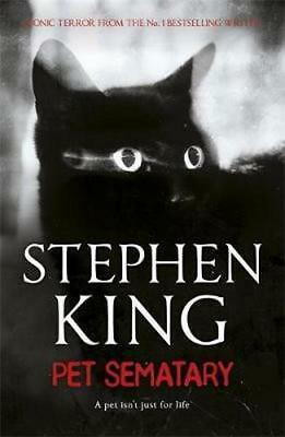 NEW Pet Sematary By Stephen King Paperback Free Shipping