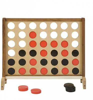 Wooden Giant 4 - Giant Connect 4 Family Game