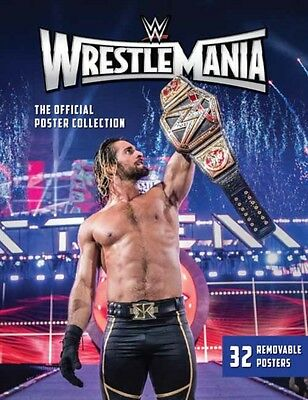 Wwe Wrestlemania Poster Collection, WWE, 9781608878253
