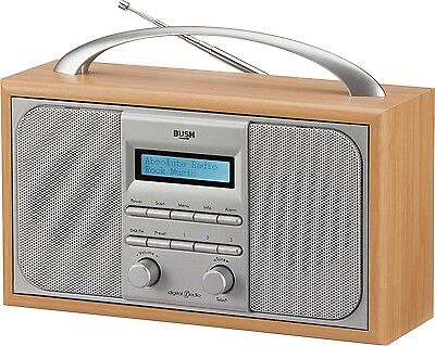 Bush Wooden/Silver LCD DAB/FM Radio. From the Official Argos Shop on ebay