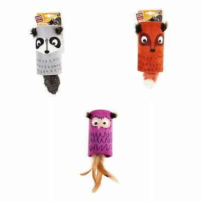 Rosewood GiGwi Cat Melody Tube Toy (Assorted Colours)