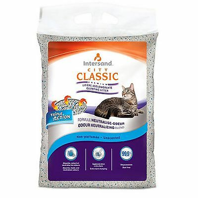 BSB Products Intersand City Classic Unscented Clumping Cat Litter