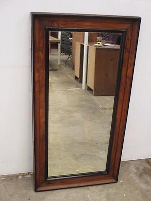 C18047 Gorgeous Large Vintage Walnut Pier Wall Mirror