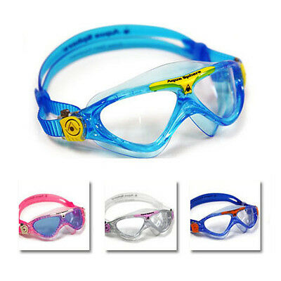 Aqua Sphere Vista Junior Youth Swimming Goggles Masks Childrens Kids Swim Goggle