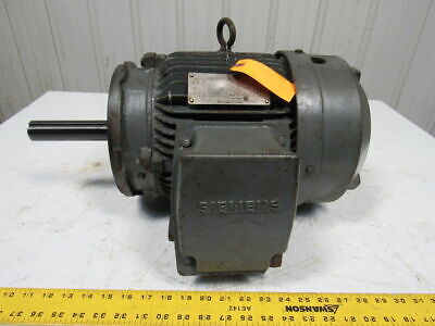 SIEMENS RGZSD 7-1/2 HP SEVERE DUTY AC Electric Motor 1735RPM 230/460V 213TC