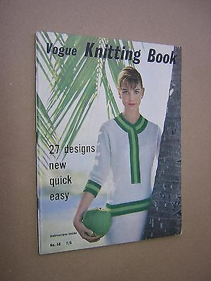 VOGUE KNITTING BOOK. 1961. No.58. 72 PAGES. ILLUSTRATED. VERY GOOD CONDITION.