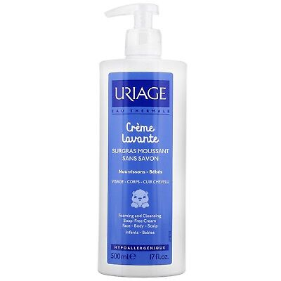 Uriage Eau Thermale 1ers Soins Bebes Creme Lavante: Cleansing Cream 500ml for wo