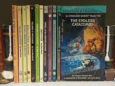Dungeons & Dragons - Adventure Game Books - 12 Books Collection! (ID:45499)