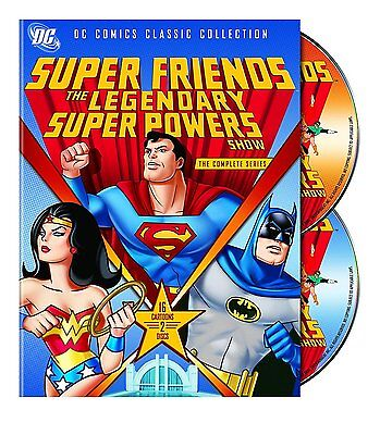 Super Friends: The Legendary Super Powers Show -Complete Series (DVD, 2-Disc)NEW