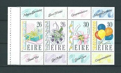 IRLANDE - 1990 YT 711 à 714 bloc - TIMBRES NEUFS** LUXE