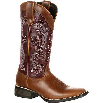 DRD0133 Durango Mustang Women's Pull-On Western Boot NEW