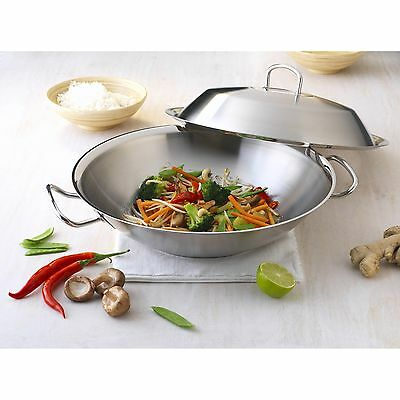 FISSLER Original-Profi Collection WOK 35 cm Metalldeckel