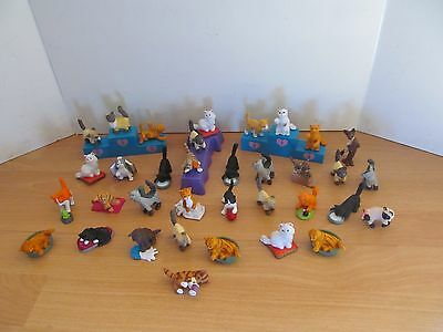 Animal Hospital Figure Bundle Of 35 Cats With Accessories