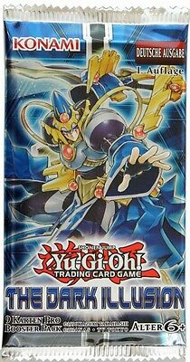 Yu-Gi-Oh ! The Dark Illusion Booster deutsch 1.Auflage TCG Boosterpack Karten