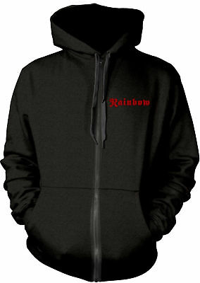 RITCHIE BLACKMORE'S RAINBOW Rising Tour 1976 HOODIE SWEATSHIRT + ZIP OFFICIAL