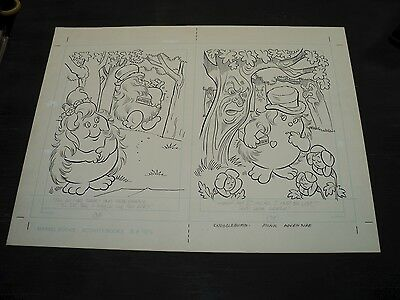 Snugglebumm Coloring Book Original Artwork RARE! Stan Goldberg! ART#0571