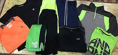 Boys Youth XL Athletic Lot Gap Champion Russell And1 Old Navy Shorts Shirts