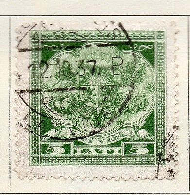 Latvia 1923-24 Early Issue Fine Used 5L. 142769