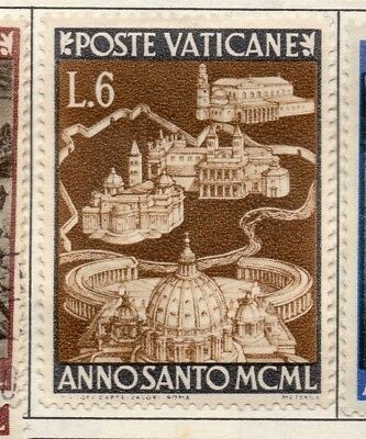 Vatican City 1949 Holy Year  Early Issue Fine Mint Hinged 6L. 146841