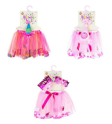Expressions Birthday Girl Dress Up Sets - 3 styles to choose from fnt