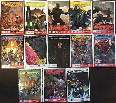 Guardians of the Galaxy (3rd Series) 2 3 4 5 9 14 15 16 17 18 Marvel Comics Lot