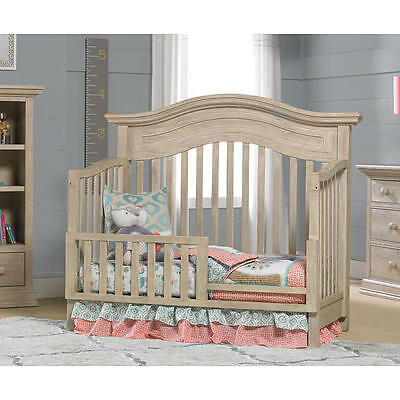 Cosi Bella Luciano Toddler Guard Rail - White Washed Pine