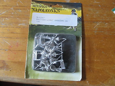 Napoleonics minifigs British Light Dragoon N-1147 NEW IN PACKAGE