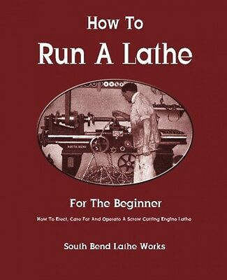 How To Run A Lathe For The Beginner How To Erect, Care For And Operate A Screw