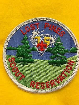 Boy Scouts -   Lost Pines Scout Reservation - Diamond Jubilee patch