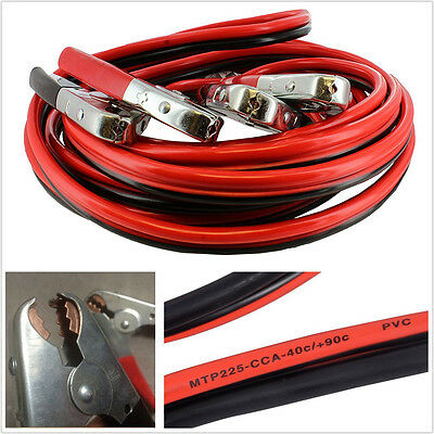 Professional Car Off-Road 25ft Long 2-Gauge 1000 AMP Booster Cable Jumping Cable