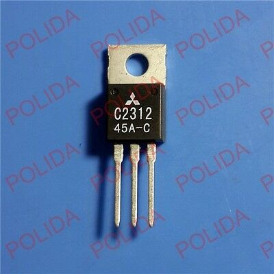 1PCS RF/VHF/UHF Transistor MITSUBISHI TO-220 2SC2312 C2312 100% Genuine and New